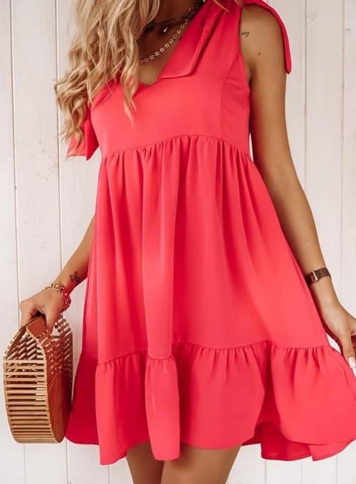 Sukienka Aurora pink 1
