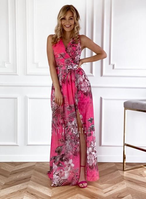 Sukienka Paradiso Maxi pink 2