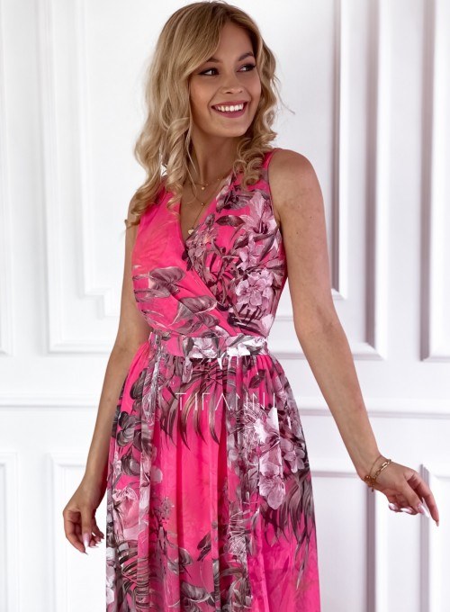 Sukienka Paradiso Maxi pink 3