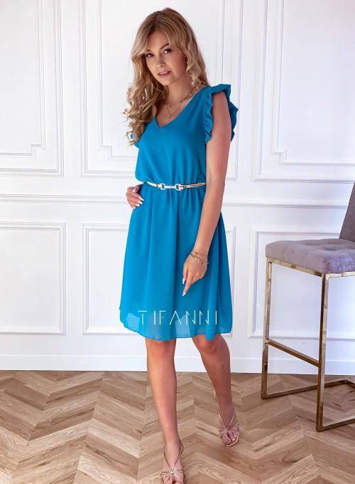 Sukienka Beki turkus 3