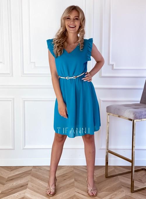 Sukienka Beki turkus 1