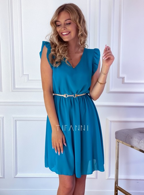 Sukienka Beki turkus 2