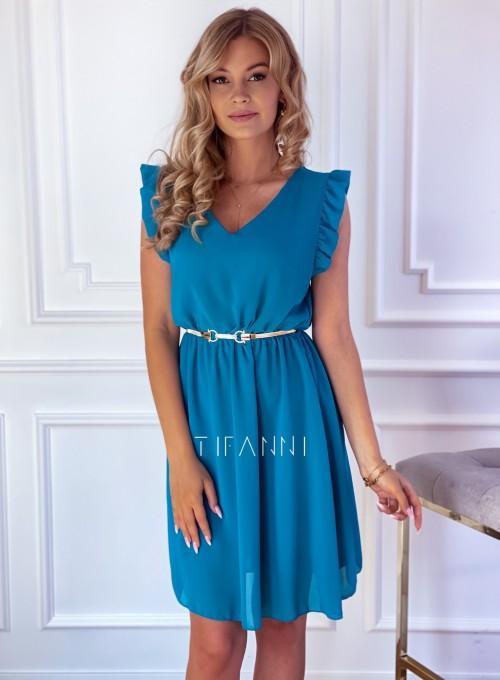 Sukienka Beki turkus 4