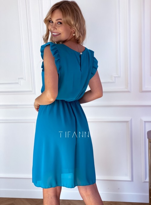 Sukienka Beki turkus 6