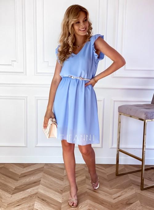 Sukienka Beki błękitna 1