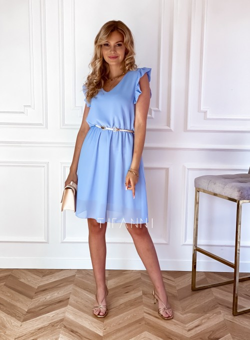 Sukienka Beki błękitna 3
