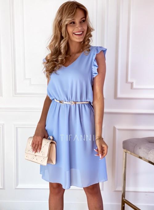 Sukienka Beki błękitna 4