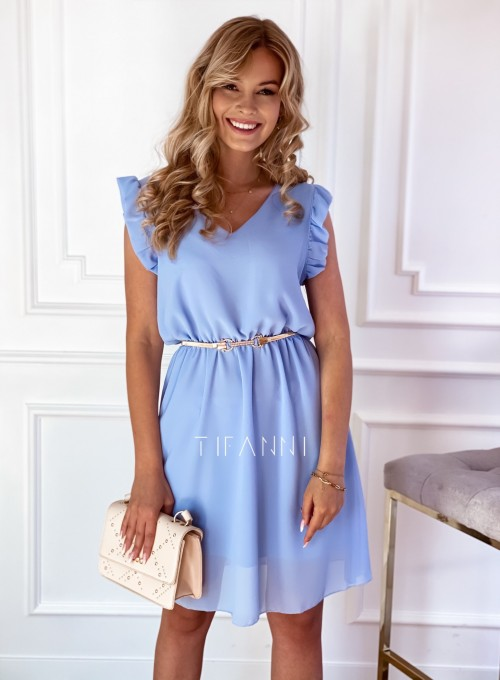 Sukienka Beki błękitna 5