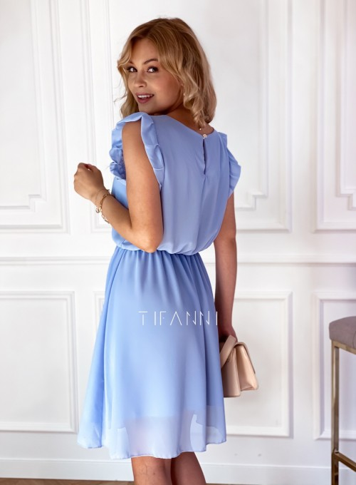 Sukienka Beki błękitna 2
