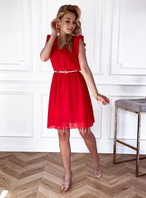 Sukienka Beki czerwona 1