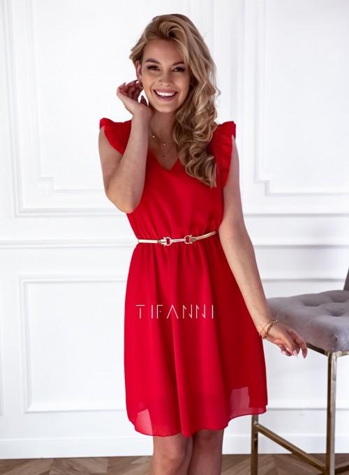 Sukienka Beki czerwona 3