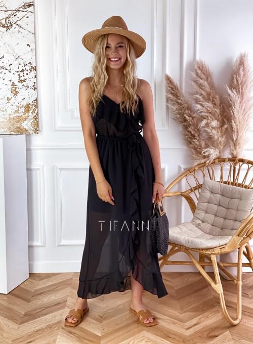Długa sukienka Vegas black 3