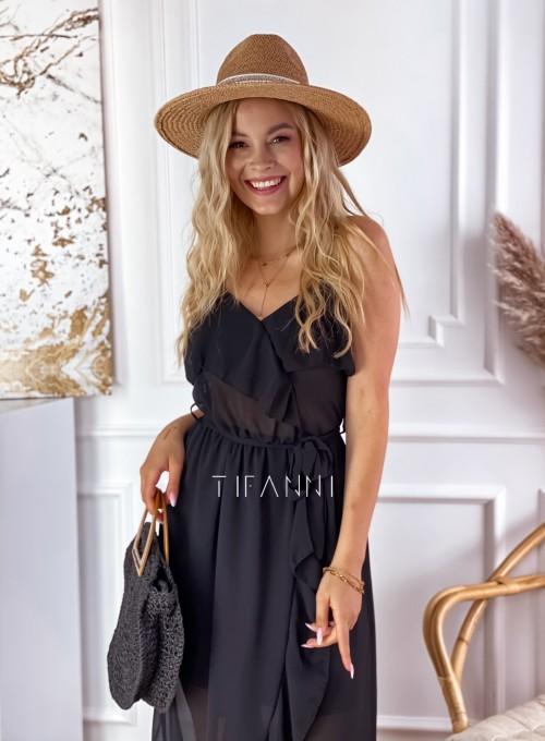 Długa sukienka Vegas black 1