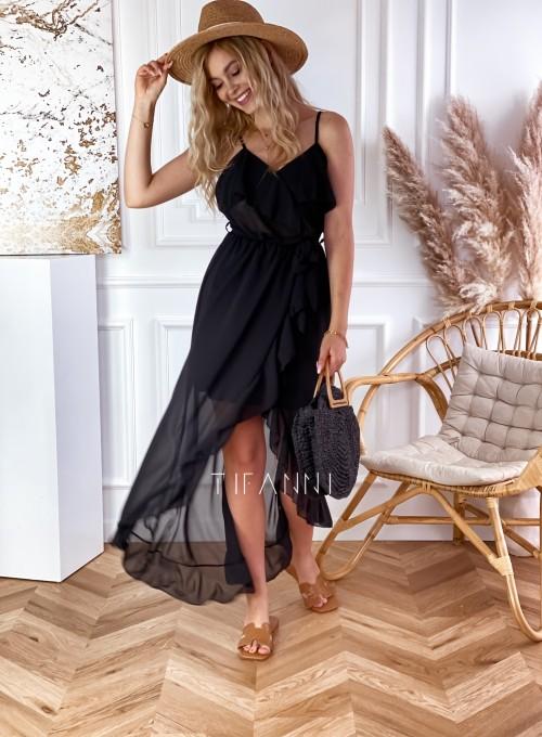 Długa sukienka Vegas black 4