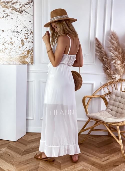 Długa sukienka Vegas white 2