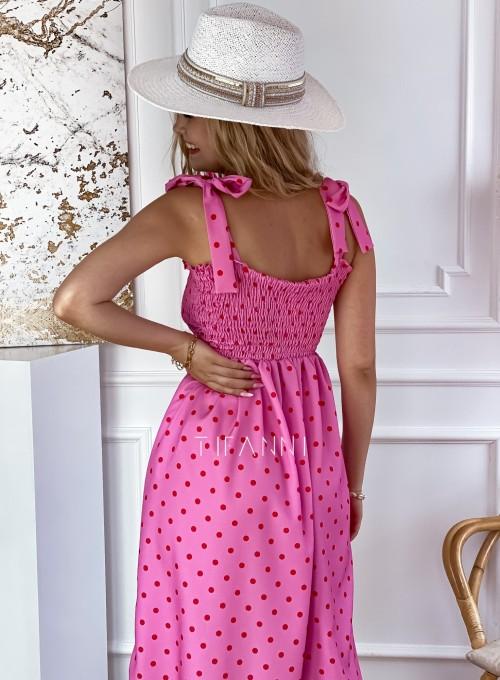 Sukienka Forti pink 3