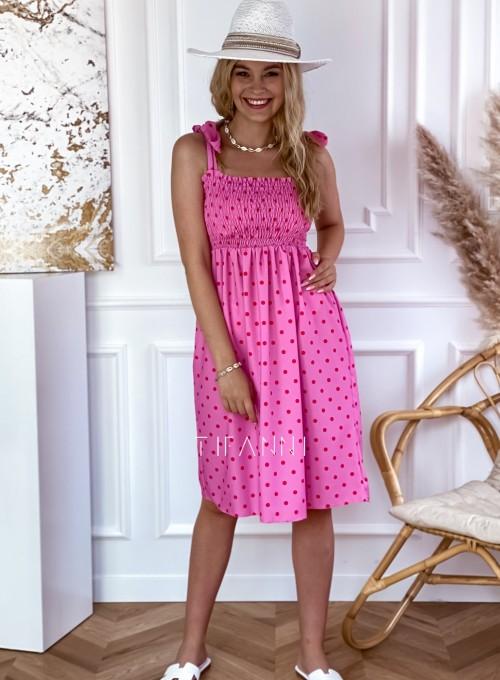 Sukienka Forti pink 4