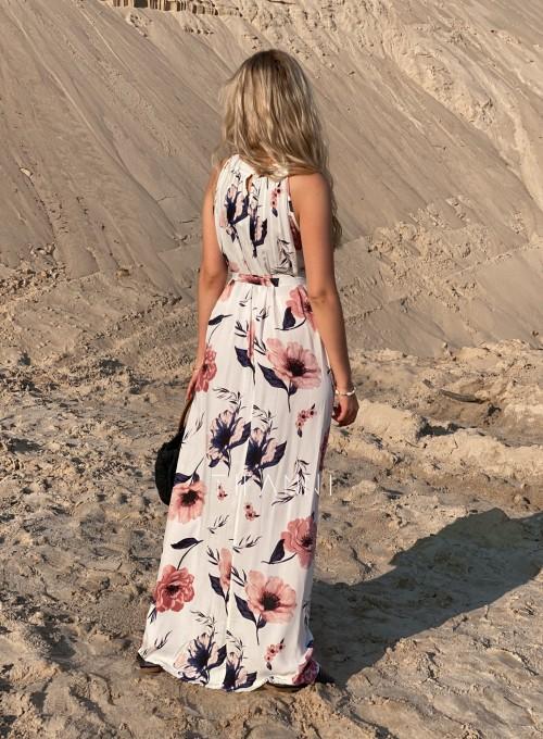 Sukienka maxi Carlo white 3