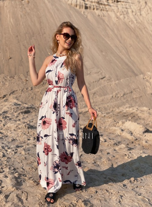 Sukienka maxi Carlo white 4