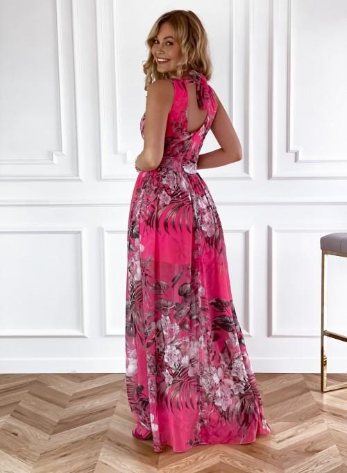 Sukienka Paradiso Maxi pink 4