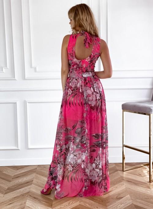 Sukienka Paradiso Maxi pink 5