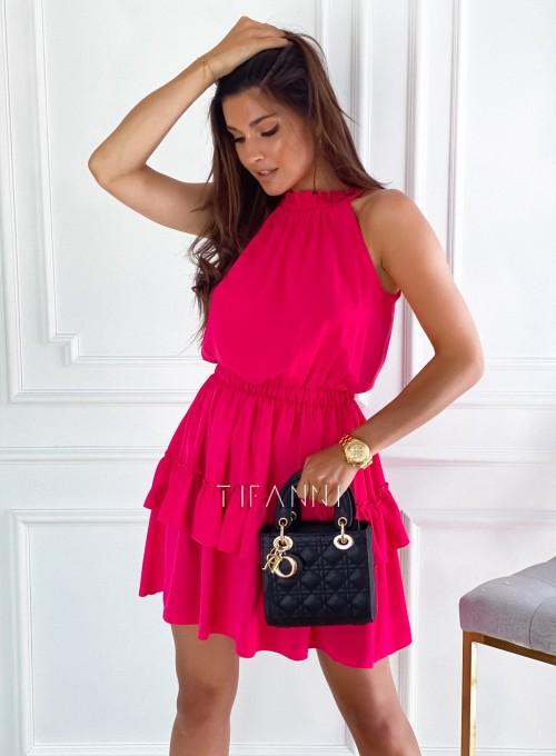 Sukienka Paoli fuksja