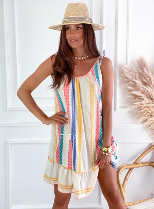 Letnia zwiewna sukienka Westi