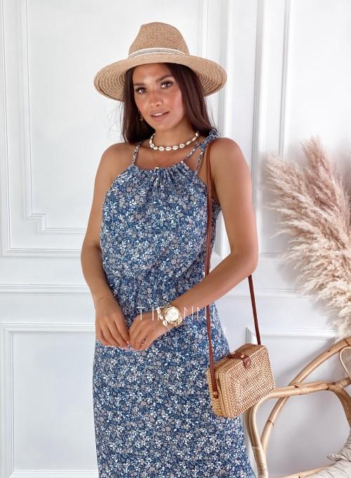 Sukienka Natali maxi kwiatki 2