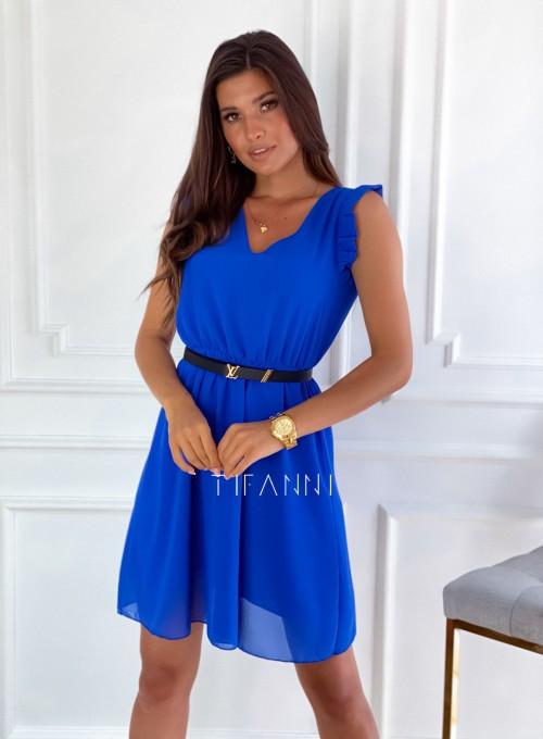 Sukienka Beki chabrowa