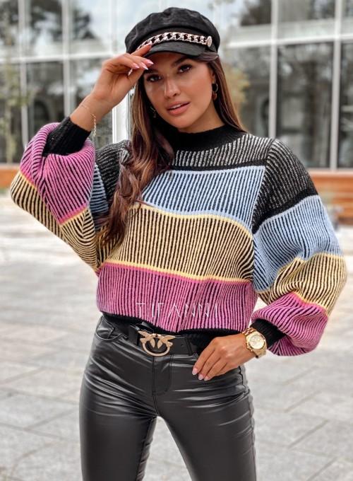 Sweter Malibu czarny
