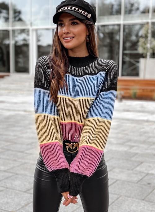 Sweter Malibu czarny 1