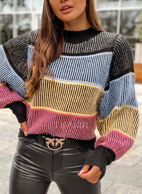 Sweter Malibu czarny 5