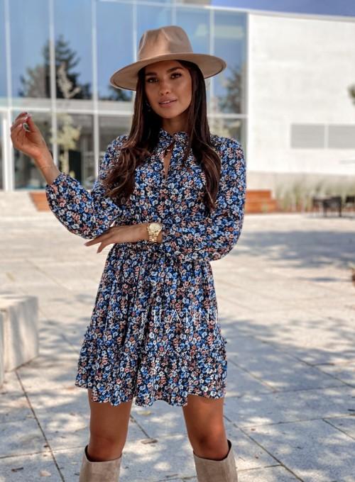 Sukienka w kwiatki Malvia 2