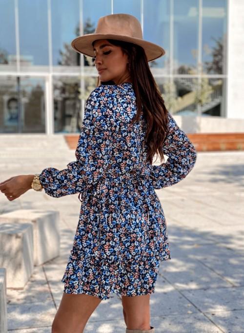 Sukienka w kwiatki Malvia 3