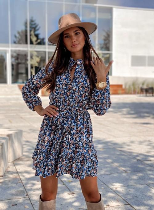 Sukienka w kwiatki Malvia 4