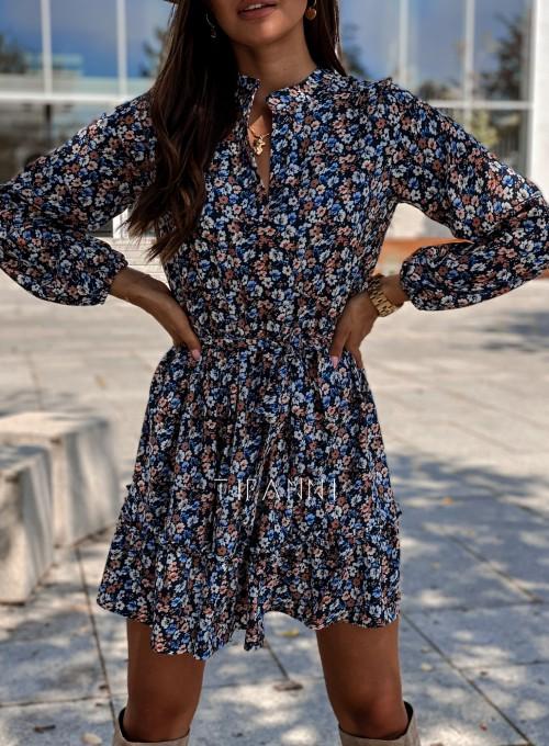 Sukienka w kwiatki Malvia 1