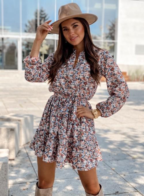 Sukienka w kwiatki Malvia II