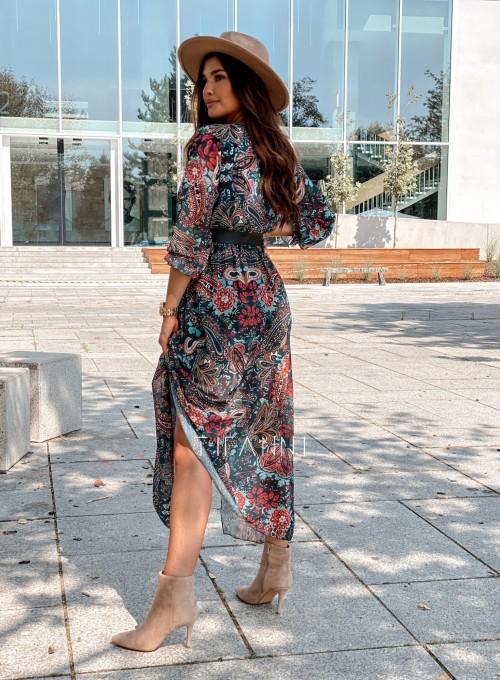 Sukienka długa Leni 2