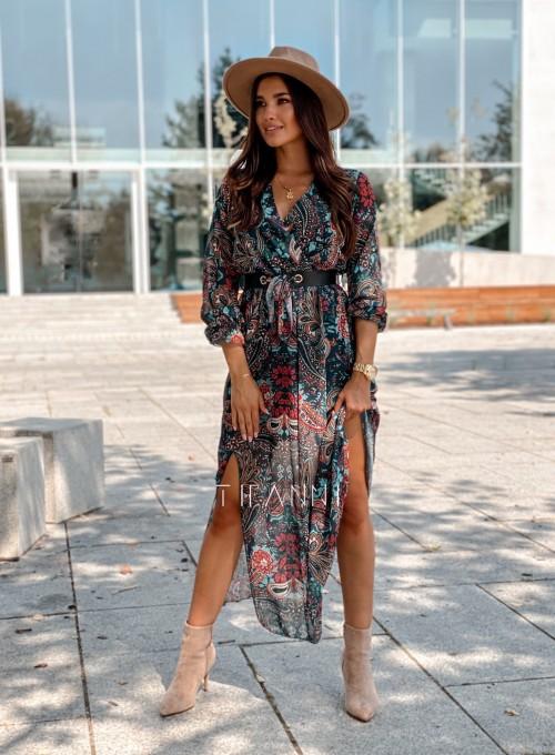 Sukienka długa Leni 4