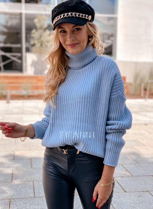 Sweter golf Blanco błękitny 2