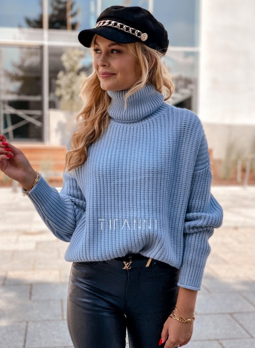 Sweter golf Blanco błękitny 4