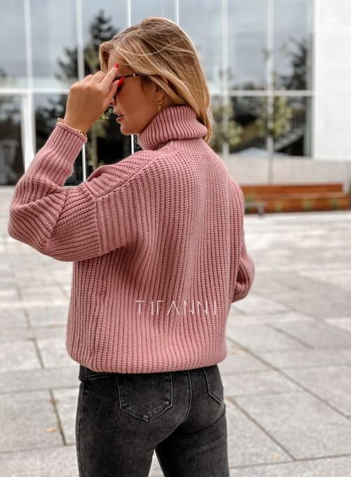 Sweter golf Blanco pudrowy 3