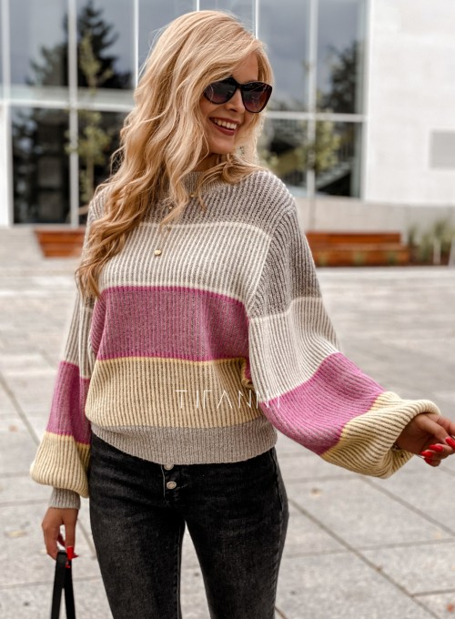 Sweter Malibu szary 6