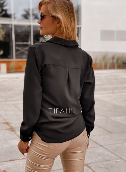 Koszula Pampi czarna 4