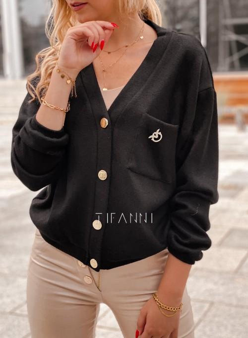 Sweter Feel czarny 1