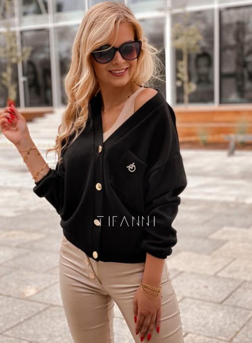 Sweter Feel czarny 2