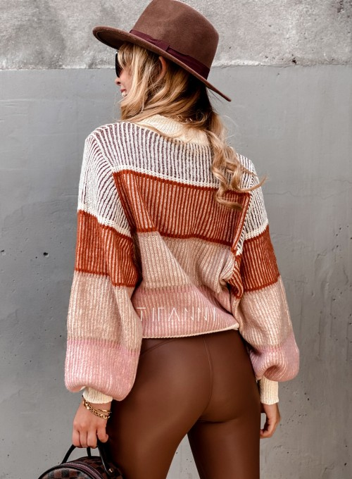 Sweter Malibu szary II 2