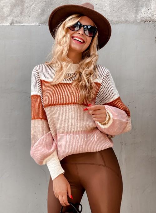 Sweter Malibu szary II 3