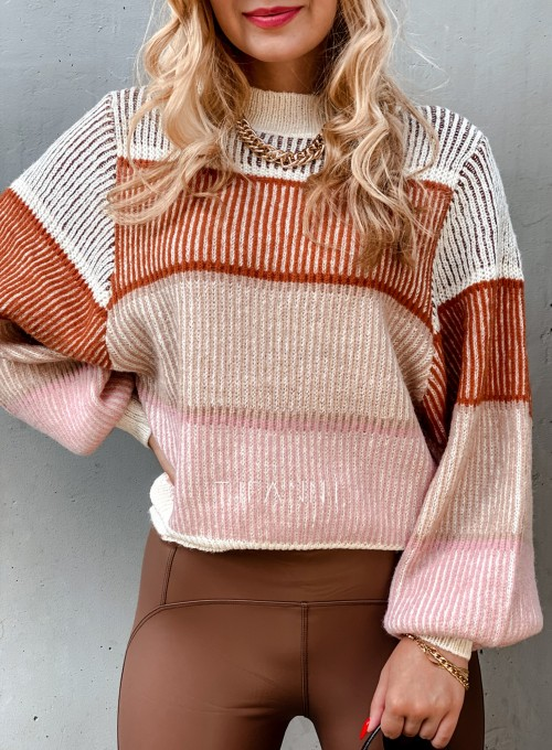 Sweter Malibu szary II 4