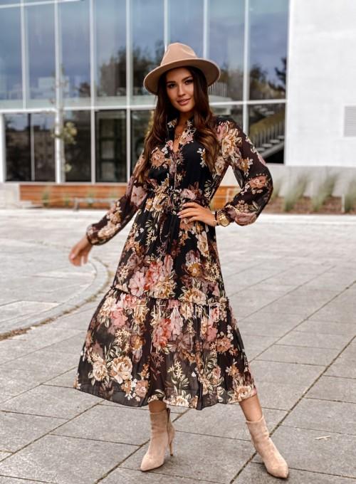 Sukienka midi Doris black 6